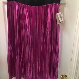 Lularoe Elegant XL shiny hot pink